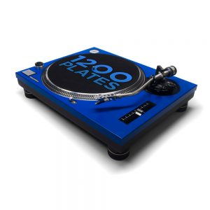 REWORK Technics 1200 / 1210 faceplate blue