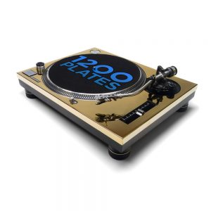 REWORK Technics 1200 / 1210 faceplate gold