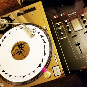 REWORK DJ Technics 1200 / 1210 Gold Faceplate