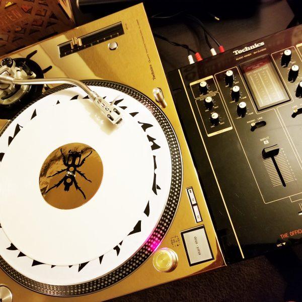 REWORK DJ Technics 1200 / 1210 Gold Faceplate