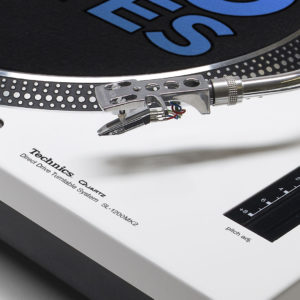 REWORK - Technics 1200 / 1210 Mk2 White Faceplate