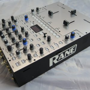 Rane Sixty Two - silver acrylic mixer faceplate