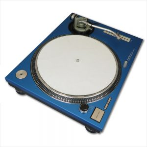 REanodized Technics 1200 / 1210 Faceplate