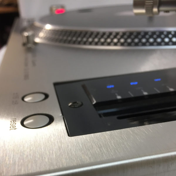 REWORK - Technics 1210 MK5G Brushed Steel Faceplate