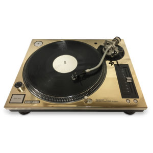 REWORK - Technics 1210 MK5G Gold Faceplate