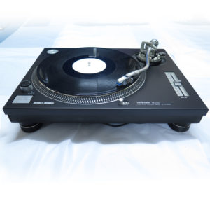 REanodised Technics 1200 / 1210 Faceplate black