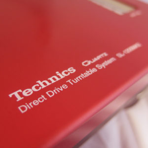 REanodised Red Technics 1200 / 1210 Faceplate