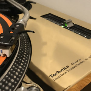 REWORK 24 Carat Gold Technics 1200 / 1210 MK2 faceplates